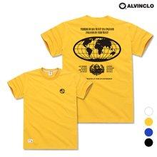 [앨빈클로] AST-3530 EARTH 오버핏 반팔 티셔츠