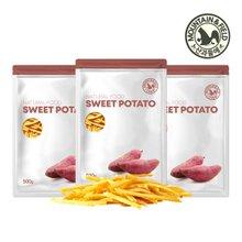 [산과들에] 고구마스틱 1kg+자색고구마칩 1kg+고구마칩 1kg