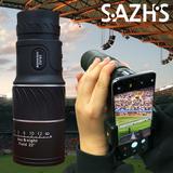 [사츠正品] 10배율 단망경(16X52)+휴대폰거치대세트 망원경 콘서트 공연 스포츠 단안경