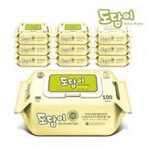 [도담이]소프트플레인 캡형 100매 10팩/ 평량50g