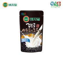[정식품]베지밀 검은콩 아몬드와 호두 두유 190ml × 45봉(파우치)