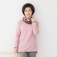 마담4060 엄마옷 미로속으로티셔츠 QTE902045