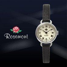로즈몽 여성용 가죽시계 RS#45-03RM-BK