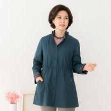 마담4060 엄마옷 프릴배색자켓 QJK902015