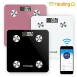 힐링큐 스마트 체중계/체지방/BMI/한글앱/다이어트도우미/8가지기능/인바디/HQ-S4000