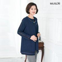 엄마옷 모슬린 로맨틱 앙상블 조끼세트 TE002217