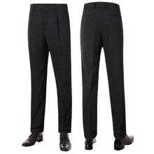 [파파브로]남성 여름 원턱 수트 양복 팬츠 정장바지 LO-C229-블랙