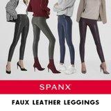 SPANX 스팽스 Faux Leather 가죽 보정 팬츠 (1종)
