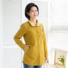 마담4060 엄마옷 체크배색꽃자수자켓-ZJK002010-