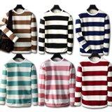 [인터페이스] 지금 입기 딱 좋은 단가라 6개 색상 남성 긴팔 티셔츠