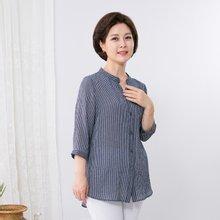 마담4060 엄마옷 청량한셔츠 QBL907001