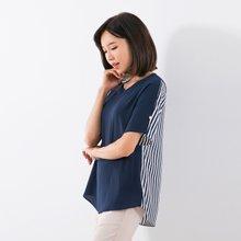 마담4060 엄마옷 반반매력블라우스 QBL907016