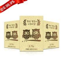 [골드모아] 순금카드 양각 [행운의부엉이] 7.5g 24K