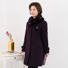 마담4060 엄마옷 럭셔리퍼코트-ZCO912011-