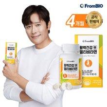 프롬바이오 활력건강엔 멀티비타민 90정x4병/12개월