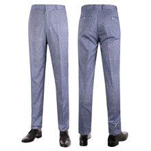 [파파브로]남성 여름 노턱 스판 양복 팬츠 정장바지 LO-C115-네이비