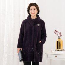 마담4060 엄마옷 트윙클에코퍼코트-ZCO912012-