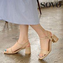 [소보제화] 9color 데일리 비비드 여성샌들 (5cm)