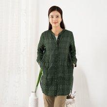 마담4060 엄마옷 태양가득체크롱셔츠 QBL908067