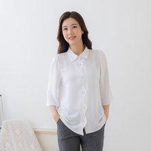마담4060 엄마옷 웨이브카라셔츠-ZBL004001-