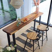 우드인미 꼬우꼬 통원목 홈바테이블 1800-ap/원목테이블/사이드테이블/홈바식탁/카페테이블