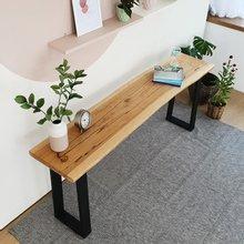 우드인미 박달나무 사이드 테이블 1800-ap/원목테이블/원목책상/다용도테이블