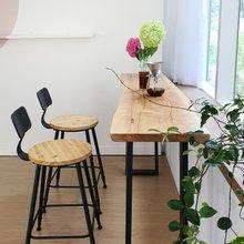 우드인미 박달나무 홈바테이블 1800-ap/원목테이블/사이드테이블/홈바식탁/카페테이블