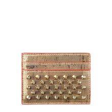 [크리스찬루부탱] (1195250 3273) 여성 키오스 스파이크 카드지갑 19SS