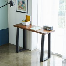 우드인미 민디원목 사이드 테이블 1100-ap/원목테이블/원목책상/다용도테이블