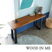 우드인미 민디원목 사이드 테이블 1400-ap/원목테이블/원목책상/다용도테이블