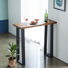 우드인미 민디원목 홈바테이블 1000-ap/원목테이블/사이드테이블/홈바식탁/카페테이블
