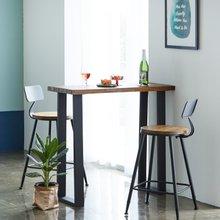 우드인미 민디원목 홈바테이블 1100-ap/원목테이블/사이드테이블/홈바식탁/카페테이블