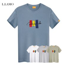 엘라모 3color 반팔티셔츠 남여공용 빅사이즈 ~4XL