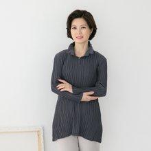 마담4060 엄마옷 와이어주름티셔츠 QTE903006