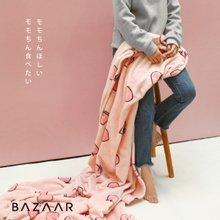 [바자르] 모모찡 극세사 담요(150x200)1장