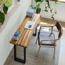 우드인미 티크원목 사이드 테이블 1200-ap/원목테이블/원목책상/다용도테이블