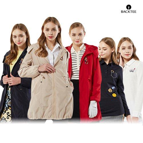 [백티]18SS 사파리 자켓 1종 + 카라 티셔츠 2종 (여성)
