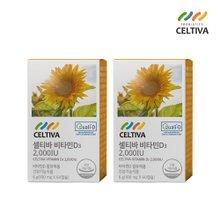 셀티바 비타민D3 2000IU (100mg x 120캡슐) 4개월