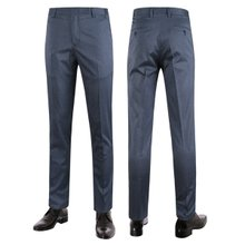 [파파브로]남성 여름 노턱 스판 양복 팬츠 정장바지 LO-C118-네이비