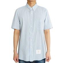 [톰브라운] 스트라이프 MWS239A 00572 415 남자 반팔 셔츠