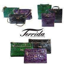 [TERRIDA] 이태리 직수입 명품 테리다 Made in Italy 에나멜 핸드백 모음전 6종 택 1 / ART.PA1070