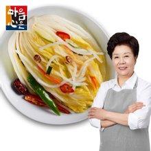 마음심은 배윤자 백김치 3kg / 국내산 농산물