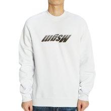 [엠에스지엠] 리버스드 로고 2740MM91 195799 01 남자 긴팔 기모 맨투맨 티셔츠