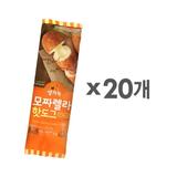 [풀무원] 모짜렐라 핫도그(치즈&소시지) 20개