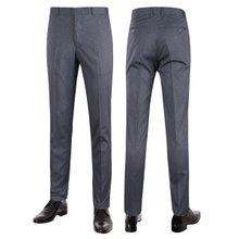 [파파브로]남성 여름 노턱 스판 양복 팬츠 정장바지 LO-C119-그레이