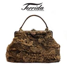 [테리다] 이태리 직수입 명품 소가죽 양모 여성 핸드백[2color] Art.1094