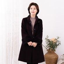 마담4060 엄마옷 부티나알파카코트-ZCO912015-