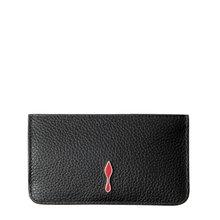 [크리스찬루부탱] (1195081 BK01) 여성 지퍼 카드지갑 19SS