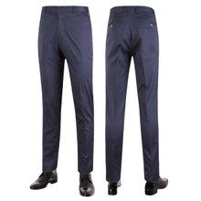 [파파브로]남성 여름 노턱 스판 양복 팬츠 정장바지 LO-C120-네이비