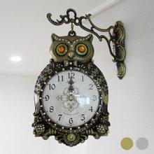 재복부엉이[대] 양면시계 HSB-230